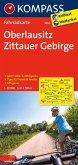 Kompass Fahrradkarte Oberlausitz, Zittauer Gebirge / Kompass Fahrradkarten