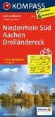KOMPASS Fahrradkarte Niederrhein Süd - Aachen - Dreiländereck / Kompass Fahrradkarten
