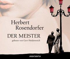 Der Meister, 4 Audio-CDs - Rosendorfer, Herbert