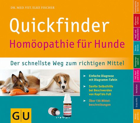 quickfinder hom opathie f r hunde von elke fischer buch. Black Bedroom Furniture Sets. Home Design Ideas