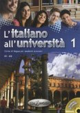 A1-A2, m. CD-Audio / L'italiano all' università Bd.1