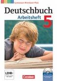 Deutschbuch 5. Schuljahr. Arbeitsheft mit Lösungen und Übungs-CD-ROM Gymnasium Rheinland-Pfalz