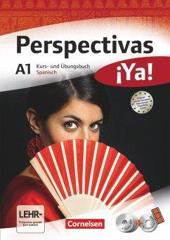 Perspectivas ¡Ya! A1. Kurs- und Arbeitsbuch, Vokabeltaschenbuch - Vicente Álvarez, Araceli; González Arguedas, Jaime; Fischer, Martin B.; Bürsgens, Gloria
