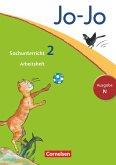 Jo-Jo Sachunterricht - Ausgabe N. 2. Schuljahr - Arbeitsheft