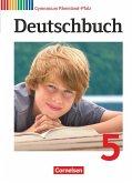 Deutschbuch 5. Schuljahr. Schülerbuch Gymnasium Rheinland-Pfalz