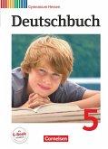 Deutschbuch 5. Schuljahr. Schülerbuch. Gymnasium Hessen