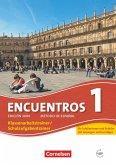 Encuentros 01. Schulaufgaben- und Klassenarbeitstrainer und Audios Online