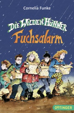Die Wilden Hühner Fuchsalarm Bd.3 - Funke, Cornelia