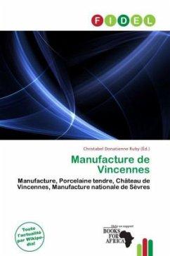 9786138055617 - Herausgegeben von Donatienne Ruby, Christabel: Manufacture de Vincennes - Livre
