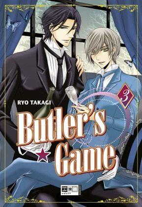 Buch-Reihe Butler's Game