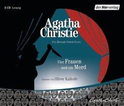 Vier Frauen und ein Mord / Ein Fall für Hercule Poirot Bd.27 (3 Audio-CDs) - Christie, Agatha