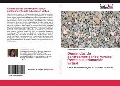 Demandas de centroamericanos rurales frente a la educación virtual