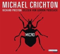 Micro, 6 Audio-CDs - Crichton, Michael; Preston, Richard