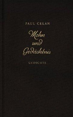 Mohn und Gedächtnis - Celan, Paul