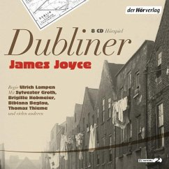 Dubliner, 8 Audio-CDs - Joyce, James