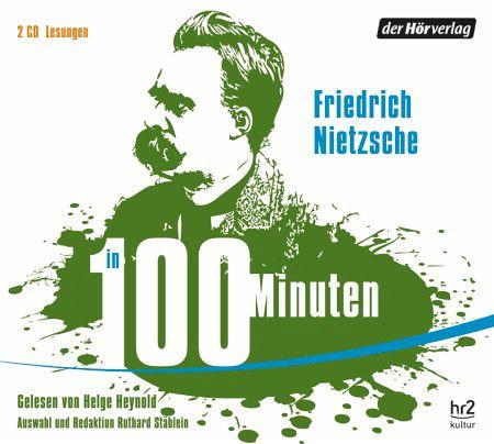 Nietzsche in 100 Minuten (2 Audio-CDs) - Nietzsche, Friedrich
