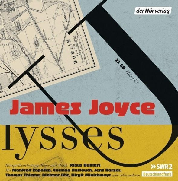 Ulysses, 23 Audio-CDs - Joyce, James
