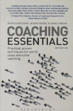 Coaching Essentials - Bossons, Patricia; Kourdi, Jeremy; Sartain, Denis