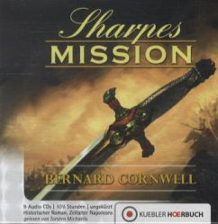 Sharpes Mission / Richard Sharpe Bd.7 (9 Audio-CDs)