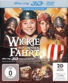Wickie auf großer Fahrt 3D, 1 Blu-ray (Premium Edition)