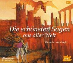 Die schönsten Sagen aus aller Welt, 5 Audio-CDs - Neuschaefer, Katharina