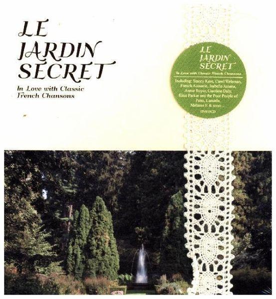Le jardin secret cd for Jardin secret