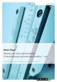Messen mit dem Messschieber (Unterweisung Industriemechaniker / -in)