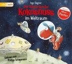 Der kleine Drache Kokosnuss im Weltraum / Die Abenteuer des kleinen Drachen Kokosnuss Bd.17, 1 Audio-CD
