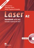 Workbook with key and Audio-CD / Laser A2