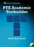 PTE Academic Testbuilder. Student's Book with Audio-CDs and Key