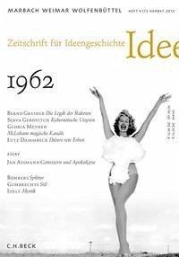 Zeitschrift für Ideengeschichte Heft VI/3 Herbst 2012