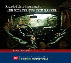 Der Richter und sein Henker, 3 Audio-CDs - Dürrenmatt, Friedrich