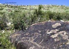 Die Petroglyphen vom Usektal in Kasachstan