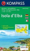 Kompass Karte Isola d' Elba