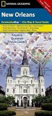 National Geographic DestinationMap New Orleans