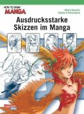 Ausdrucksstarke Skizzen im Manga / How to draw Manga Bd.8