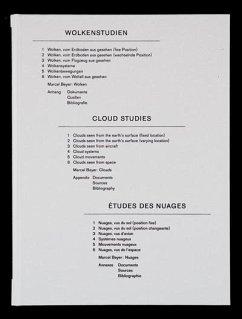 Wolkenstudien / Cloud Studies / Etudes des nuages - Beyer, Marcel