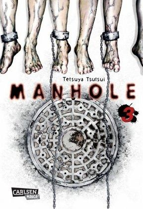 Buch-Reihe Manhole