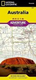National Geographic Adventure Travel Map Australia