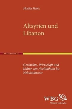 Altsyrien und Libanon - Heinz, Marlies