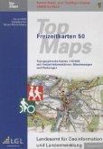 TopMaps Freizeitkarten Baden-Württemberg 1 : 50.000 2011, DVD-ROM