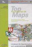 TopMaps Freizeitkarten Baden-Württemberg 1 : 25.000 2011, DVD-ROM