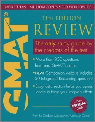 the official guide of gmat