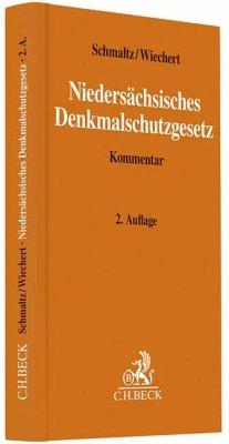 Niedersächsisches Denkmalschutzgesetz - Schmaltz, Hans K.; Wiechert, Reinald