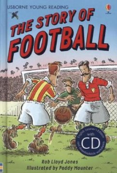 The Story of Football. Book + CD - Jones, Rob Lloyd