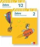 Zebra. Neubearbeitung. Schülerpaket (Arbeitsheft Sprache, Arbeitsheft Lesen und Schreiben 2. Schuljahr)
