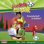 Freundschaft in Gefahr! / Teufelskicker Hörspiel Bd.34 (1 Audio-CD)