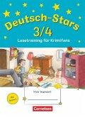 Deutsch-Stars 3/4. Lesetraining für Krimifans