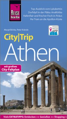 Reise Know-How CityTrip Athen - Kränzle, Peter; Brinke, Margit