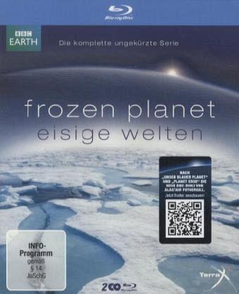 Frozen Planet - Eisige Welten, Die komplette ungekürzte Serie (2 Discs)
